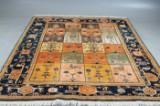 Kashmir Bakthiar, handknuten matta, 260 x 232 cm