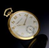 Audemars Piguet & Co. Vintage herrelommeur i 18 kt. guld med separat sekundviser, 1920'erne