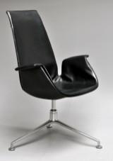 Preben Fabricius & Jørgen Kastholm. 'Tulip' lounge chair