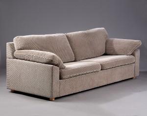 søren lund sofa Søren Lund. 2½ pers sofa betrukket med Grado stof, model SL 329  søren lund sofa
