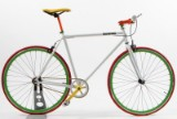 Von Braun. Fixiebike. Hvid lakeret