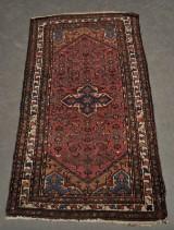 Orientalisk handknuten matta, semiantik, 1940-tal