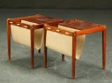 Par sideborde af palisander, 1960'erne, dansk møbeldesign (2)