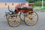 Hestevogn. Dogcart Phaeton