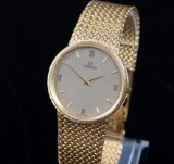 Omega. Men's watch, 18 karat gold