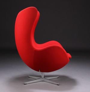 arne jacobsen 39 das ei 39 sessel mit kippfunktion. Black Bedroom Furniture Sets. Home Design Ideas