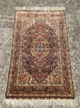 Signed silk carpet
