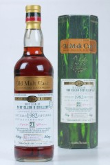 Port Ellen Whisky. Douglas Laing old malt cask 2004