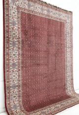 Matta, Moud med silkesinslag, 340 x 250