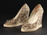 Gucci. Peeptoe sandal