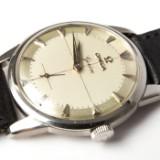 Omega Genève Cal. 267, gentlemen's wristwatch, stainless steel, Biehl, Switzerland, 1959