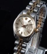 Rolex. Ladies' wristwatch, gold/steel