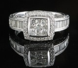 14kt Diamond ring approx. 1.50ct