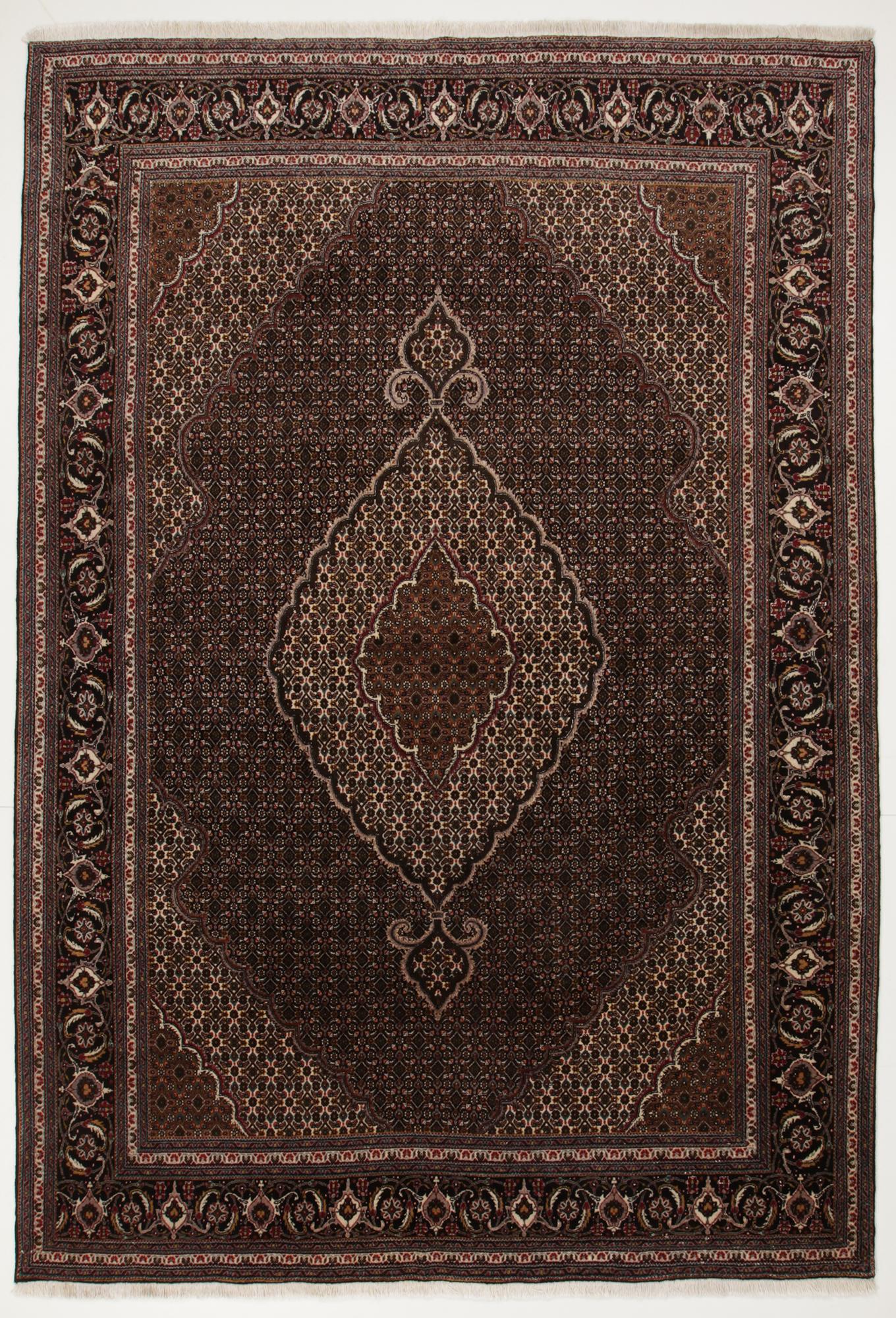 Persisk Tabriz 298 x 202 cm - Persisk Tabriz 298 x 202 cm. Håndknyttet uld på bomuld