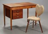 Børge Mogensen m.fl. Skrivebord og stol (2)
