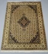 Indisk tæppe, 155x215 cm