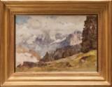 Edward Harrison Compton, 'Jungfrau von Griesalp (Berner Oberland)'
