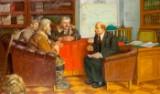 Yuri Evdokimovich Balikov, Lenin in conversation with farmers
