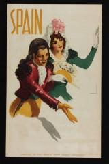 Josep Morell. 'Spain'. Vintage plakat