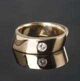 Diamond ring approx. 0.15 ct.