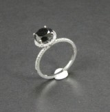 White gold ring with diamonds, approx. 2.26 ct.