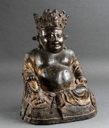 Maitreya Buddha, gilt bronze, 15/16th century