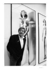 Peter Frank, Giclée, 'Helmut Newton, Bonn Rheinisches Landesmuseum 1987'
