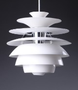 Poul Henningsen for Louis Poulsen. PH Snowball pendant