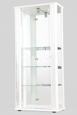 vare 3977005 vitrine glasvitrine vitrinenschrank in wei. Black Bedroom Furniture Sets. Home Design Ideas
