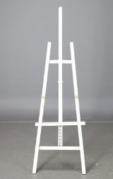 Staffli, vitlackerat, ca 190 cm