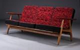 H. J. Wegner, three-seater sofa, model GE-240