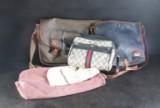 Mulberry, Gucci. Tre vintage handväskor  (3)