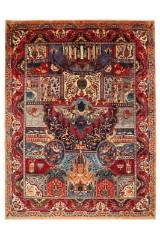 Figural persisk Kashmar, 395 x 300 cm.
