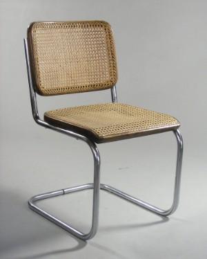 marcel breuer vier freischwinger f r thonet modell b32 4. Black Bedroom Furniture Sets. Home Design Ideas