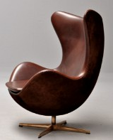 Arne Jacobsen. The Golden Egg. Model 3316. Anniversary model, number 146/999