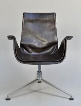 Preben Fabricius & Jørgen Kastholm. Tulip chair - Lounge
