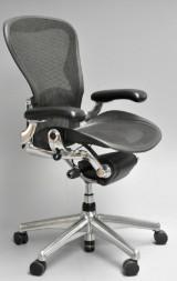 Donald Chadwick & William Stump. Multi-adjustable office chair, model Aeron