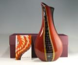 Gianluca Vidal - Murano Italien - glasobjekt, vase