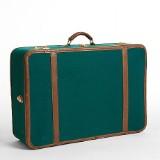 T. Anthony (New York), resväska i grön canvas