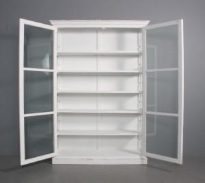 ware 3122349 vitrine schrank im franz sischen landhausstil wei bemaltes holz. Black Bedroom Furniture Sets. Home Design Ideas