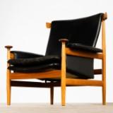 Finn Juhl, France & Søn, Sessel / Lounge Chair / Armlehnstuhl, Modell 'Bwana 152', Dänemark, 1962