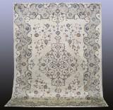 Carpet, green Keshan, Persia, 352 x 280
