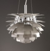 Poul Henningsen. PH Artichoke, brushed steel, Ø 48 cm
