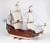 Håndbygget modelskib af Vasa, Sverige