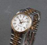 Rolex Oyster Pertual Datejust mid-size, 18kt. gold and steel