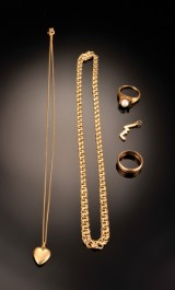 Samling guldsmykker - 33,8 gram (5)