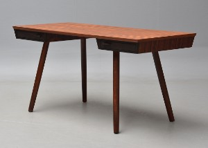 skrivebord design BG Design. Rosewood desk, model Flipper XS | Lauritz.com skrivebord design