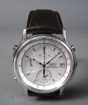 38fd5b504f8 Fabelagtigt Seiko quartz chronograph og Citizen dykkerur med dybdemåler (2  FA63