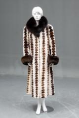 Lemonidis Copenhagen – clipped mink coat, size 44/46