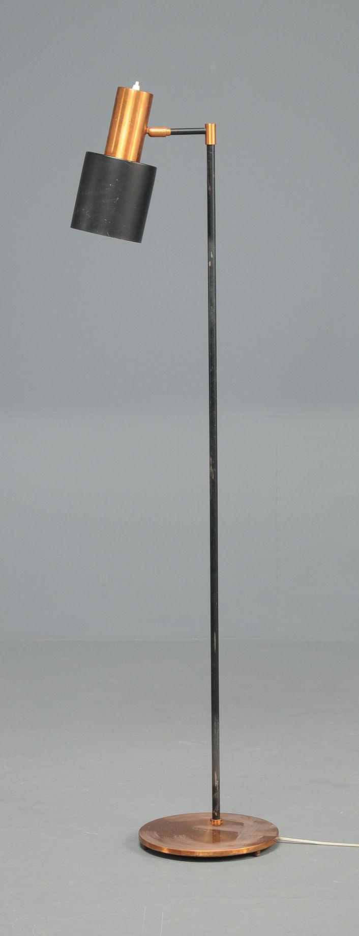 Vare 2972179 Standerlampe gulvlampe, kobber, Fog og Morup, Jo Hammerborg